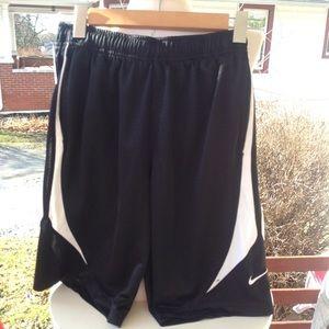Boys Nike shorts.